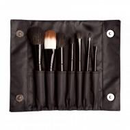 Набор синтетических кистей (7 штук) Sleek MakeUp BRUSH SET: фото