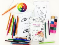 Тетрадь для визажистов MAKE-UP-SECRET Training book: фото
