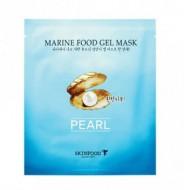 Маска гидрогелевая с экстрактом жемчуга SKINFOOD Marine Food Gel Mask Pearl: фото