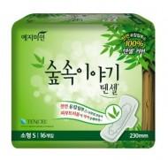 Прокладки гигиенические с эвкалиптом YEJIMIN Tencel sanitary pad (small) 16шт (малые): фото