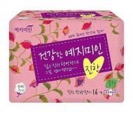 Прокладки гигиенические Натуральный хлопок YEJIMIN Rich herb cotton sanitary pads (medium) 16шт (средние): фото