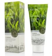Пенка для умывания с экстрактом зеленого чая 3W CLINIC Green tea foam cleansing 100мл: фото
