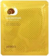 Маска гидрогелевая с золотом и улиточным муцином PETITFEE Gold & Snail Mask Pack: фото
