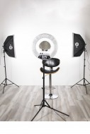 Комплект Stellar Gemini Photo/Video Kit + Stellar Diva II Ring Light 18 Inch: фото