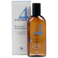 Шампунь терапевтический №4 для очень жирной, чувствительной и раздраженной кожи головы SIM SENSITIVE System4 215мл: фото