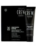 Камуфляж для седых волос American Crew PRECISION BLEND Темный натуральный 2/3, 3*40мл