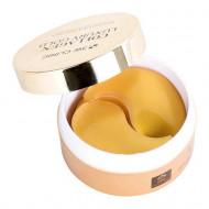 Патчи гидрогелевые с коллагеном и коллоидным золотом 3W CLINIC Collagen & Luxury Gold Hydrogel Eye & Spot Patch: фото