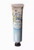 Крем для рук парфюмированный Хлопок DEOPROCE SOFT COTTON BLUE PERFUMED HAND CREAM 50г: фото