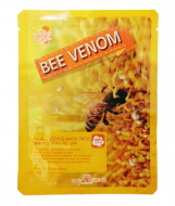 Маска тканевая с пчелиным ядом May Island Real Essence Bee Venom Mask Pack 25мл: фото