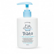 Детский шампунь и пенка для купания 2 в 1 Biato Baby shampoo & bath Lacouvee, 300 мл: фото